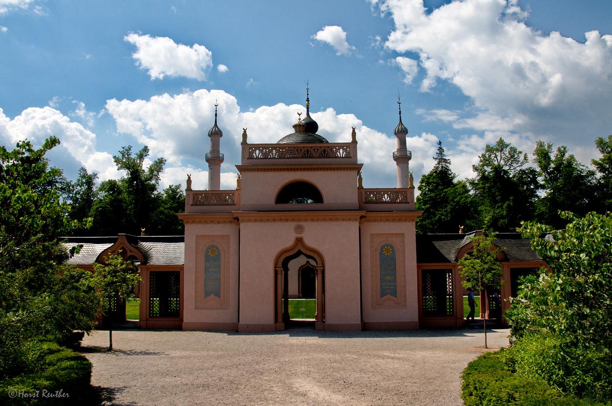 Moschee in Schwetzingen.