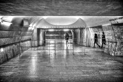 Moscow Metro - the less picturesque part