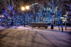 Moscow winter glow I