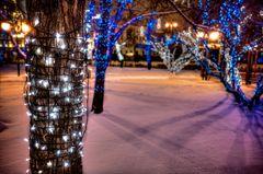 Moscow winter glow III