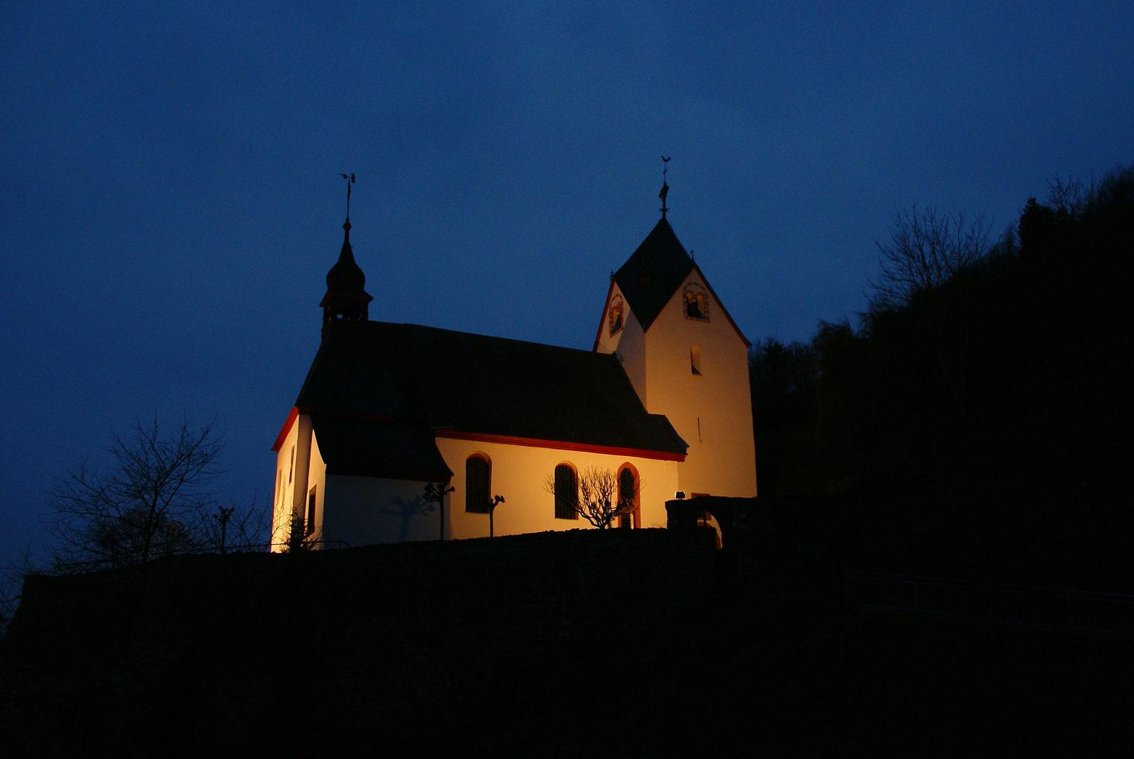 Mosel - Alte Dorfkirche St.Aldegund