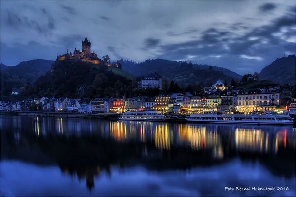 Mosel bei Cochem ....