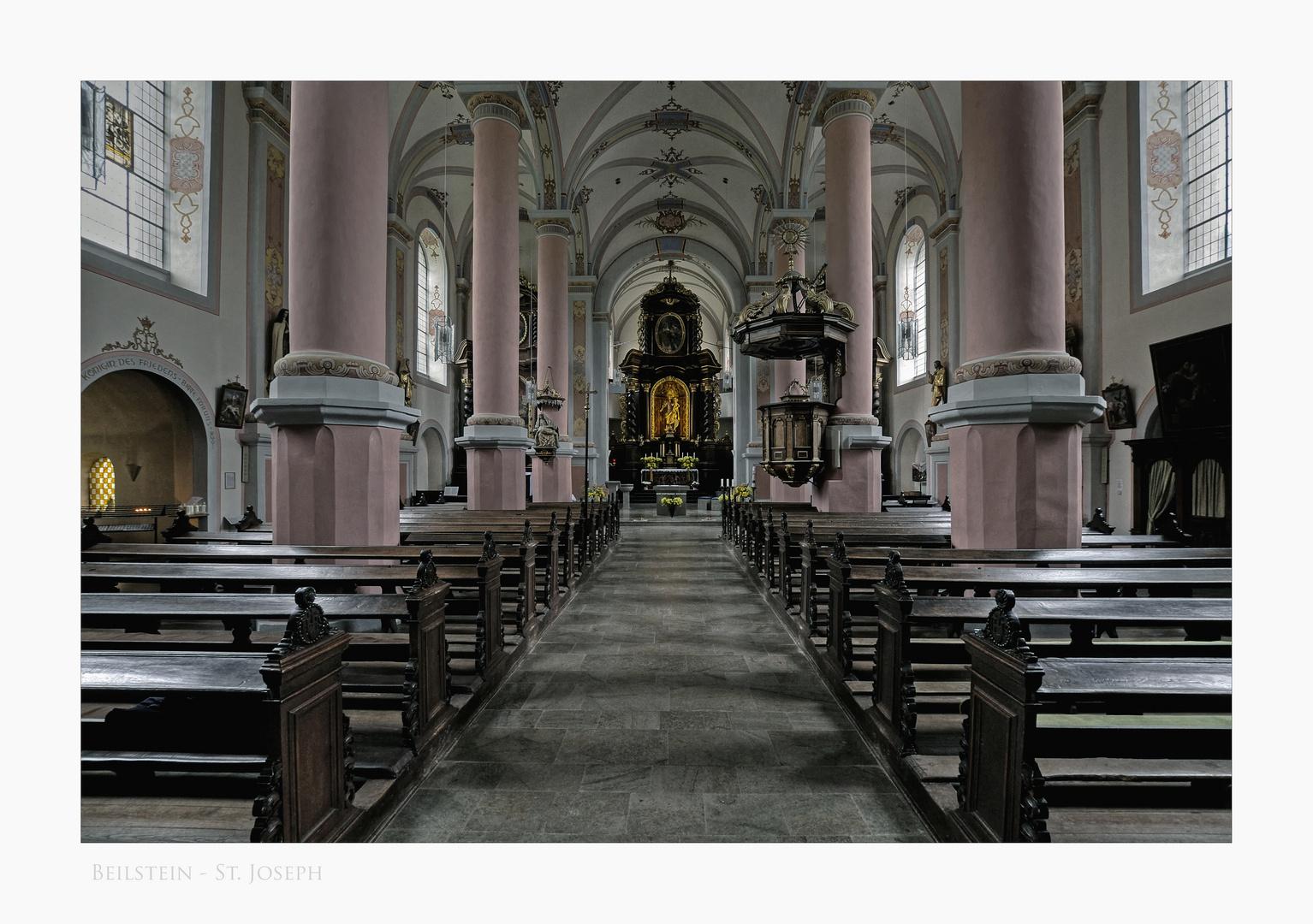 """Mosel - Impressionen """" Klosterkirche - St. Joseph, in Beilstein """""""