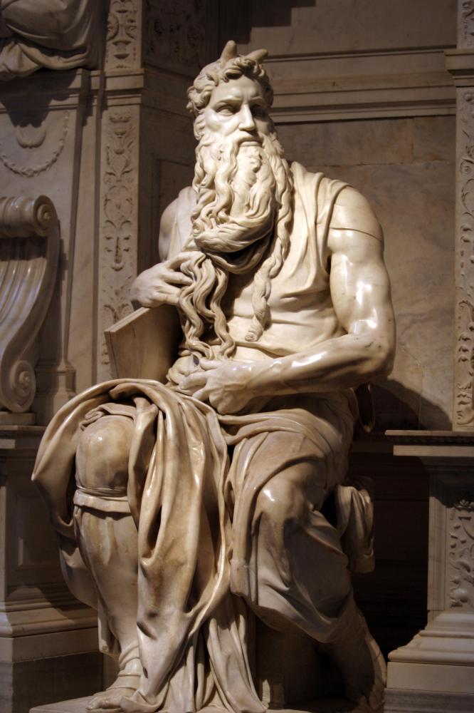 Moses von Michelangelo