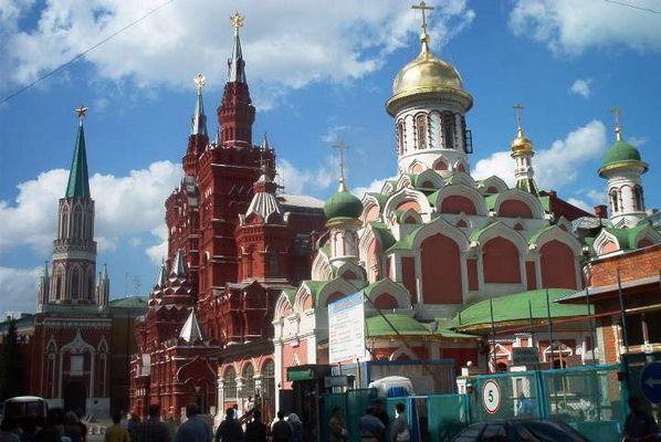 Moskau August 2003