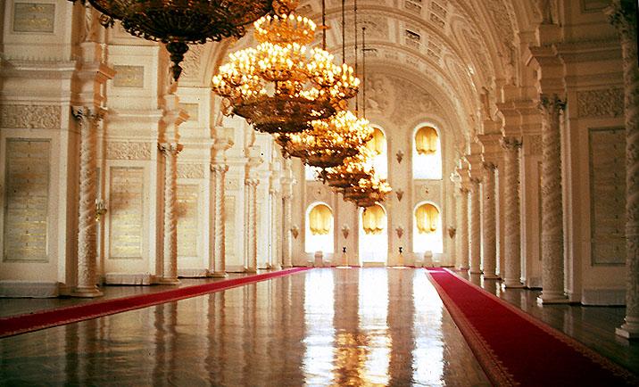 Moskau Georgssaal des Kremlpalastes