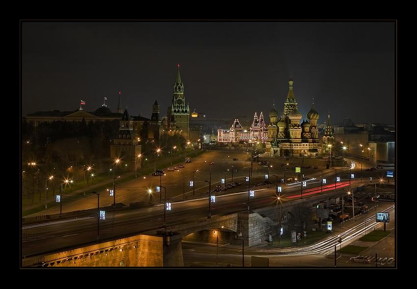 Moskau Impressionen II // Impresiones de Moscu II