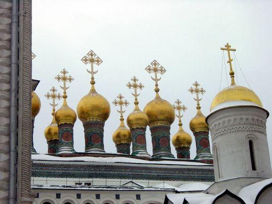Moskau Kreml Kathedrale