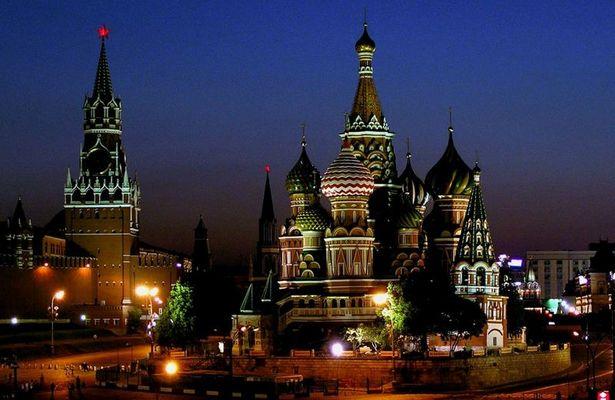 Moskau - Kreml & St. Basils Cathedral