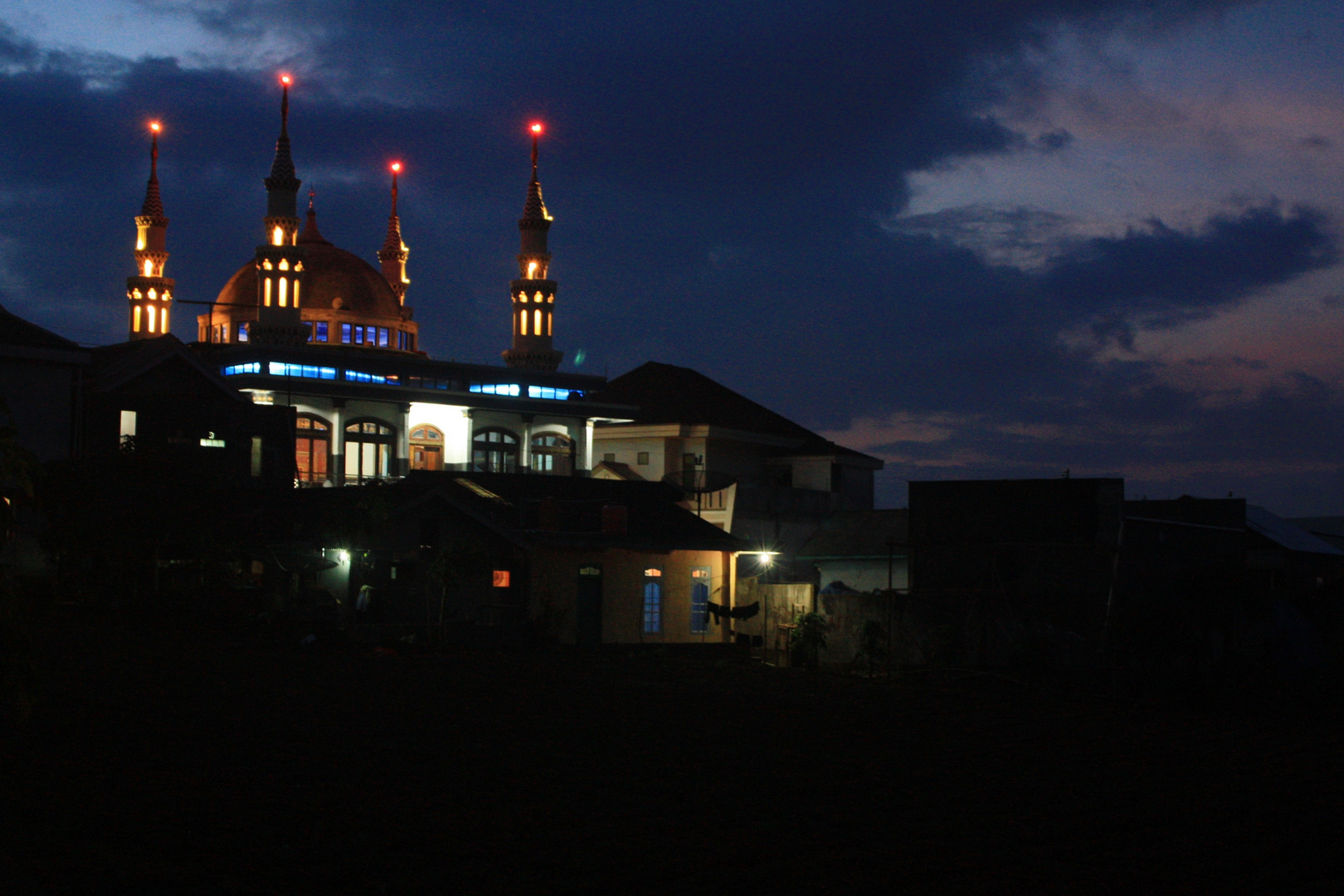 Mosque in Dieng, Central Java