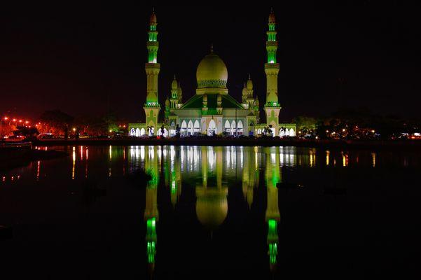Mosque in Kuala Belait (Masjid Kg Pandan)