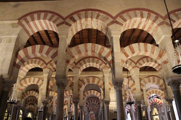 mosquée Cordoba, perspective ,vacances,eté,
