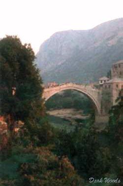Mostar, le pont