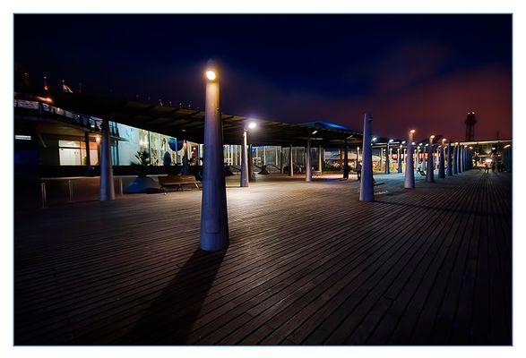 "Mostra collettiva ""Barcellona: In&Out"" - 7. Port Vell, la notte"