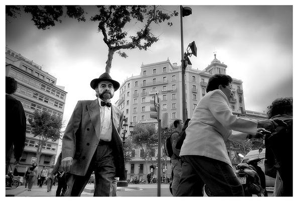 """Mostra collettiva """"Barcellona: In&Out"""" - 9. Gente de Barcelona BN"""