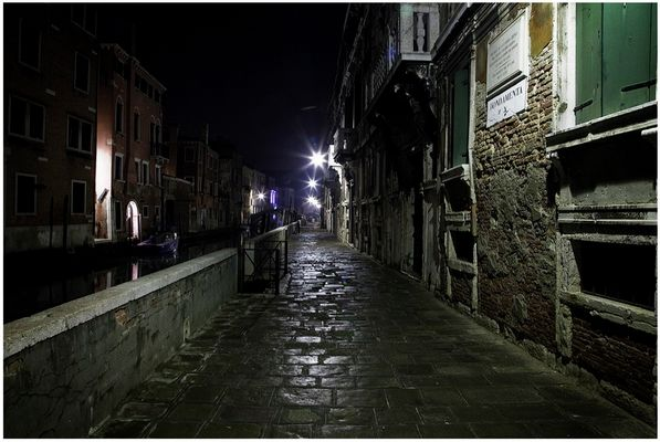Mostra collettiva Fiorentini-Lattuada: 27 - ONE NIGHT IN VENICE 04:01