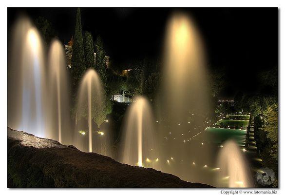 """Mostra collettiva """"Il colore della notte a Villa d'Este"""" - 1."""