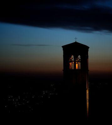 """Mostra collettiva: """"Tra le mura di Assisi"""" - 13. Si fa sera"""