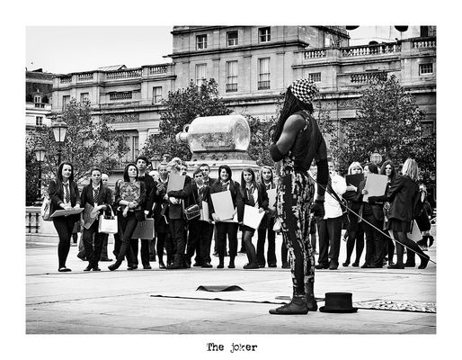 """Mostra online di Alberto Busini: """"Londra in breve"""" - 2. The joker"""