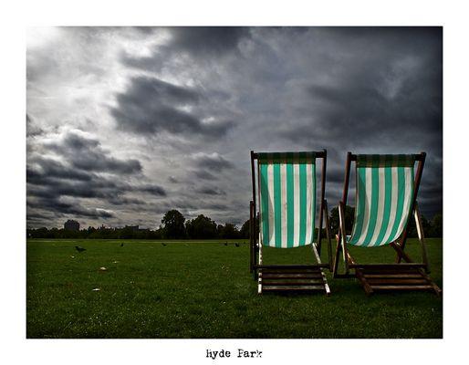 "Mostra online di Alberto Busini: ""Londra in breve"" - 4. Hyde Park"