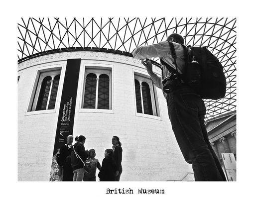 "Mostra online di Alberto Busini: ""Londra in breve"" - 5. British Museum"