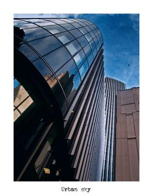"Mostra online di Alberto Busini: ""Londra in breve"" - 6. Urban sky"