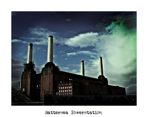 "Mostra online di Alberto Busini: ""Londra in breve"" - 9. Battersea Powerstation"
