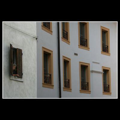 """Mostra online di Aldo Palin: """"Gente alla finestra"""" - 2."""