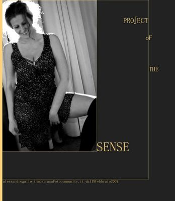 "Mostra online di Alessandro Gallo: ""PROJECT oF THE SENSE"" - 1."