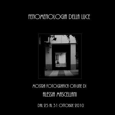 """Mostra online di Alessia Mascellani """"Fenomenologia della Luce"""""""
