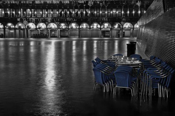 "Mostra online di Alvise Caburlotto: ""Highwater dreams and reality"" - 5. Ultimo caffè al Florian"