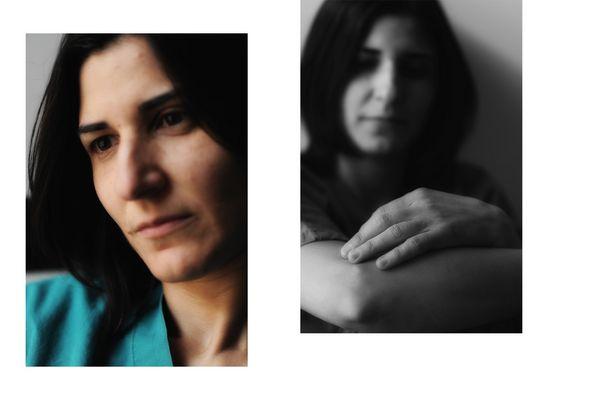"""Mostra online di Andrea Minichini """"La mia squadra: Angela"""" - 2."""