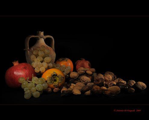 Mostra online di Antonio Di Pasquale - 6. Natura morta autunnale