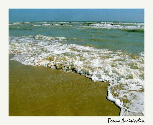 """Mostra online di Bruno Aurisicchio: """"Il mare"""" - 2. Onde sull'arenile"""