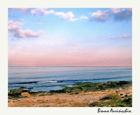 """Mostra online di Bruno Aurisicchio: """"Il mare"""" - 6. Quando il gigante ti accarezza"""