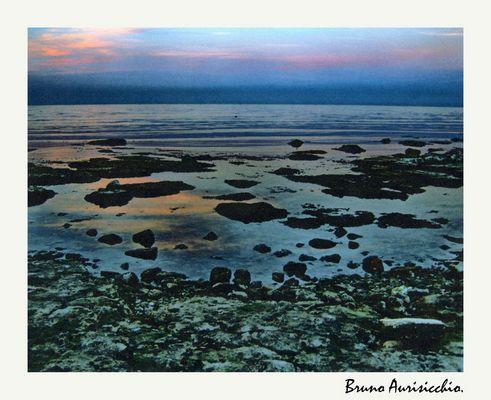 """Mostra online di Bruno Aurisicchio: """"Il mare"""" - 8. Quiete"""