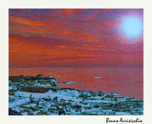 """Mostra online di Bruno Aurisicchio: """"Il mare"""" - 9. Un giorno ti dissi..."""