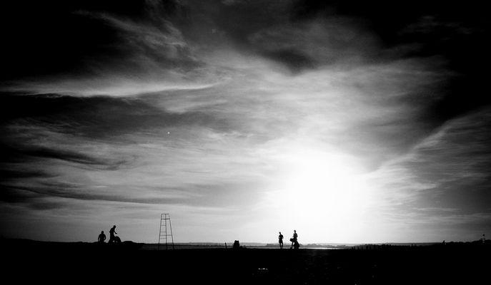 """Mostra online di Carlo Atzori """"Il mare..."""" - 3. Controluce, come pensieri che ritornano"""