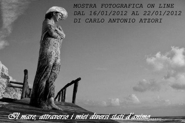 """Mostra online di Carlo Atzori """"Il mare..."""""""