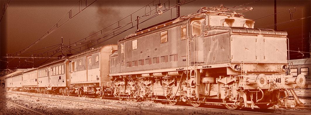 Mostra online di Carlo Ferraroni: Treni - 10. Ramata