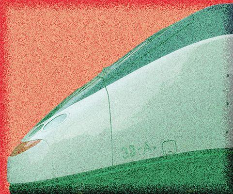 Mostra online di Carlo Ferraroni: Treni - 2. Moderno