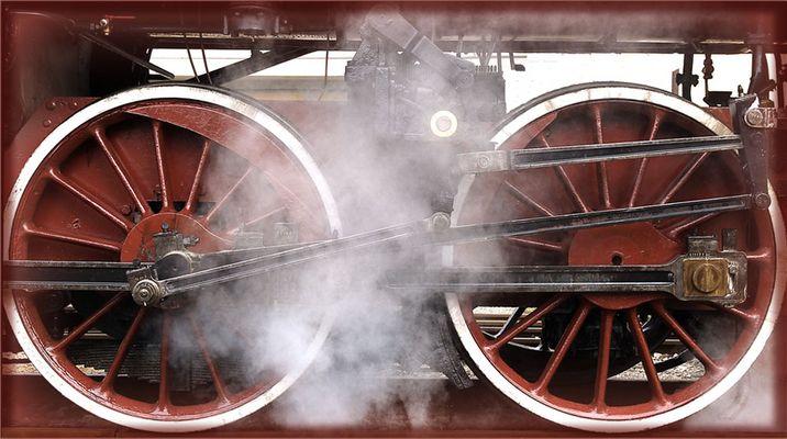 Mostra online di Carlo Ferraroni: Treni - 3. Fumosità di una volta