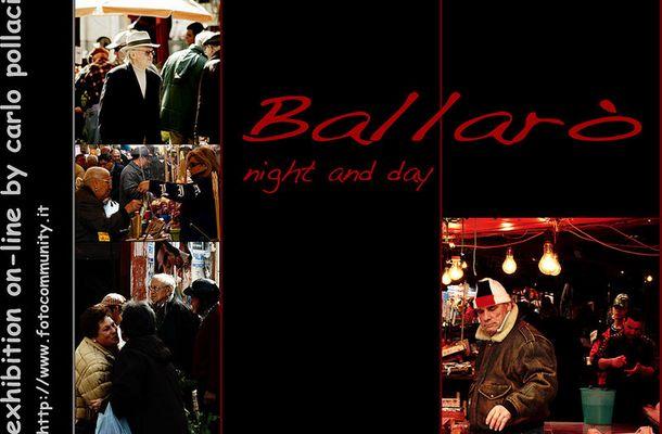 "Mostra online di Carlo Pollaci: ""Ballarò night and day"""