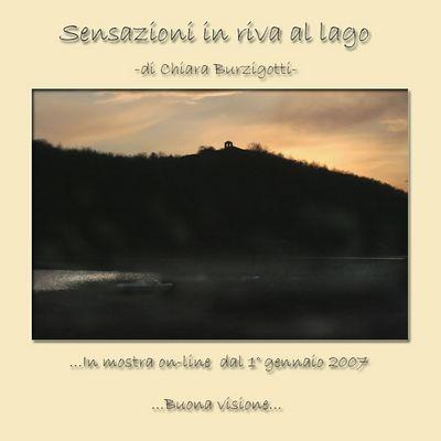 Mostra online di Chiara Burzigotti: Sensazioni in riva al lago