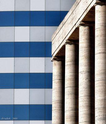"Mostra online di Claudio Bosco ""EUR"" - 1. Tra antico e moderno"