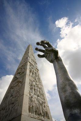 "Mostra online di Claudio Bosco ""EUR"" - 4. Awakening, un gigante a Roma"