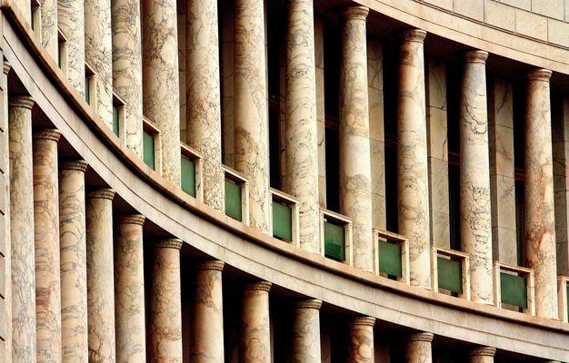 "Mostra online di Claudio Bosco ""EUR"" - 6. Geometrie urbane"