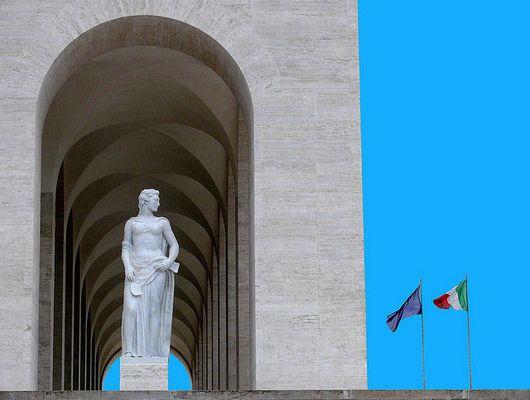 """Mostra online di Claudio Bosco """"EUR"""" - 7. Un popolo di poeti, santi, artisti ecc. ecc."""