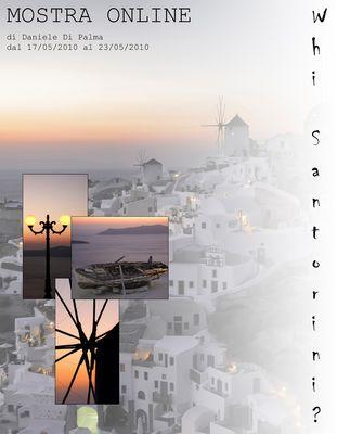 """Mostra online di Daniele Di Palma """"Why Santorini?"""""""