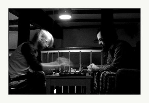 Mostra online di Enrico Doria - 10. I giocatori